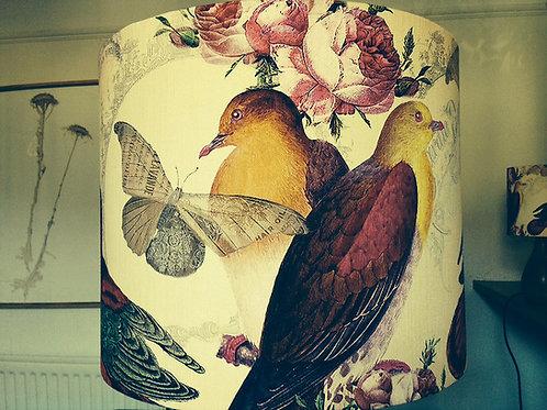 Yellow Bird Lampshade