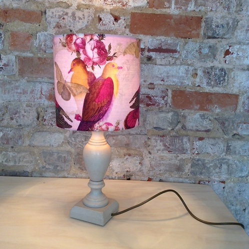Pink Bird Lampshade