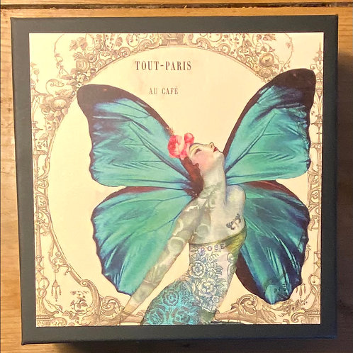 Butterfly Lady  -Box Of Assorted Cards