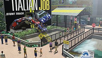 The Italian Job Stunt Track