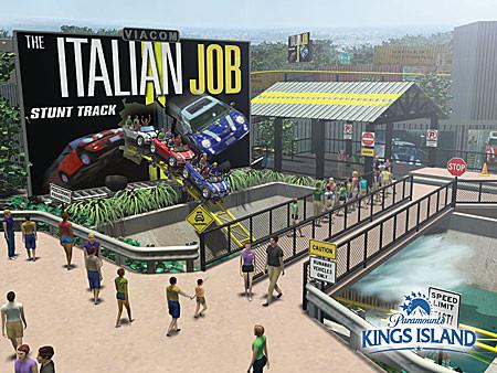 Italian Job Stunt Track