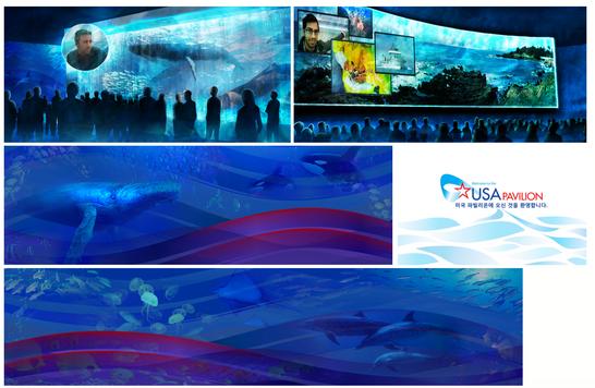 USA Pavilion World Expo 2012