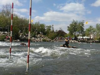 Ouverture du stade d'eau vive et course nationale de kayak à Val de Reuil - 23 avril 2017