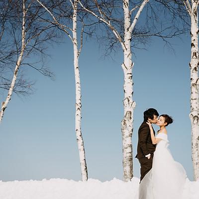 海外婚紗/札幌, 中島公園, 美瑛