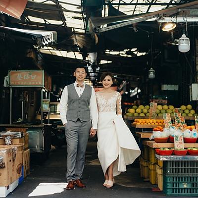 婚紗寫真|北醫與吳興街
