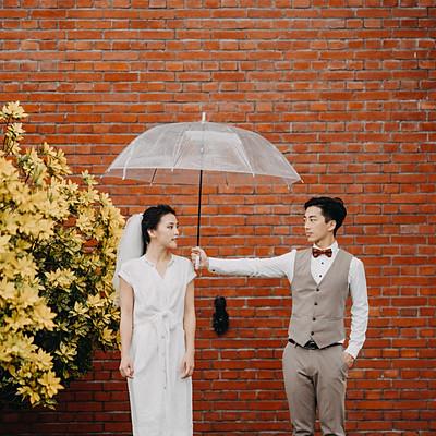 婚紗寫真/玲玲颱風過境時