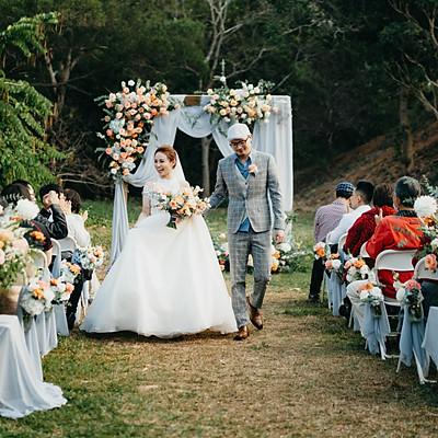 婚禮紀錄|完美陽光的顏氏牧場
