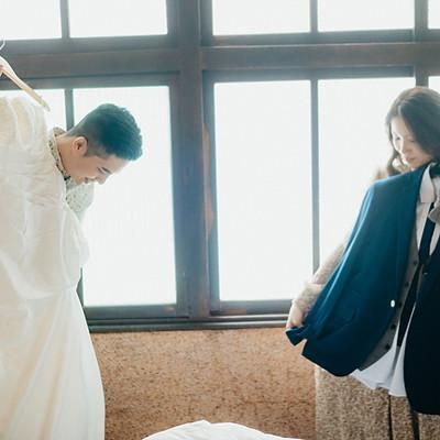 婚紗寫真|台南一大清早