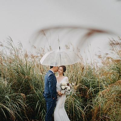 婚紗寫真/山上的一場暴雨