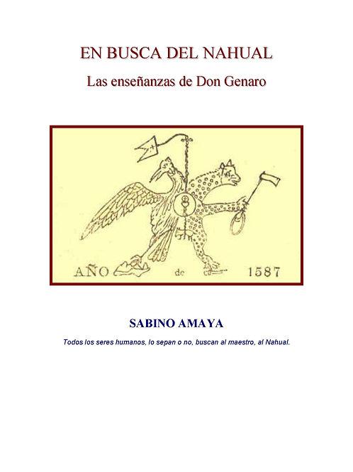 """EN BUSCA DEL NAHUAL """"Las enseñanzas de Don Genaro"""""""