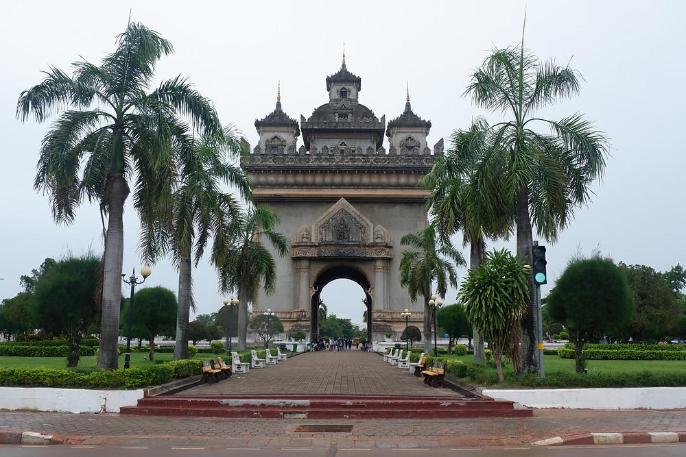 Laos Arch De Triiomphe