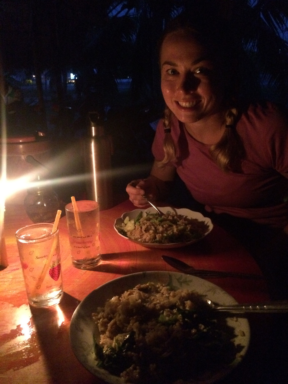 Teagan's birthday dinner