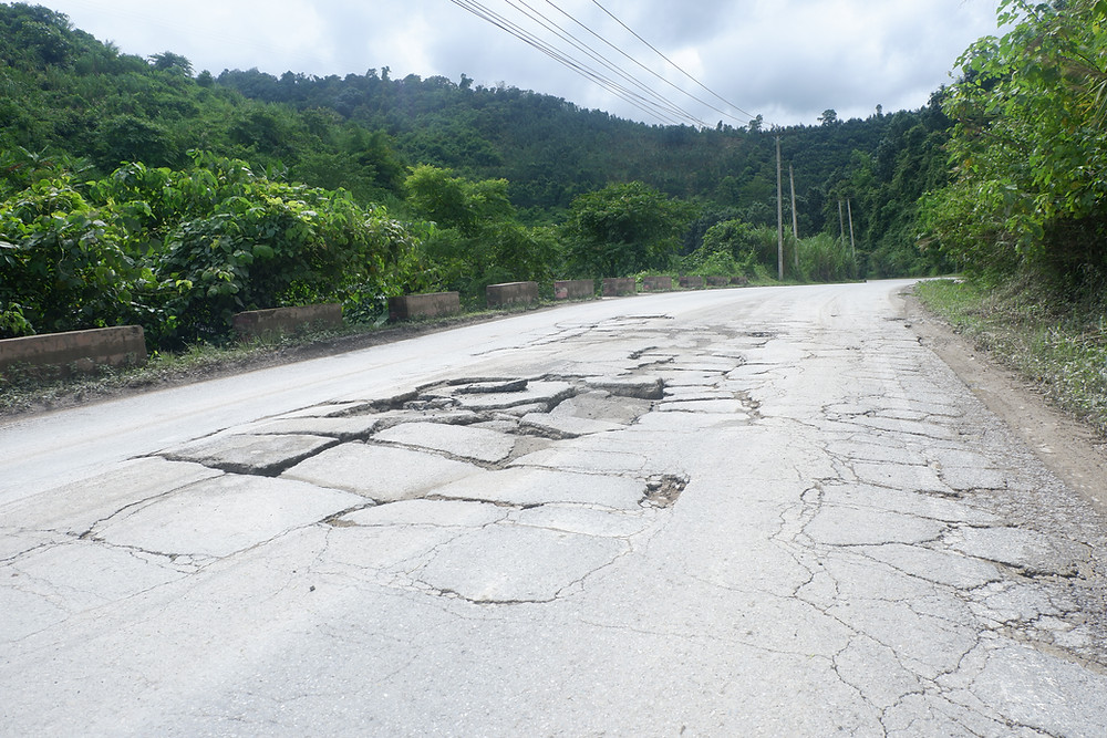 The Common State of Roads In Laos