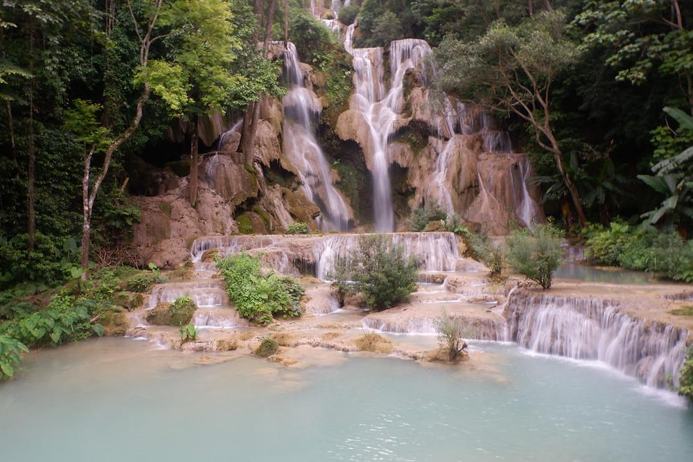 Kunag Si Waterfall