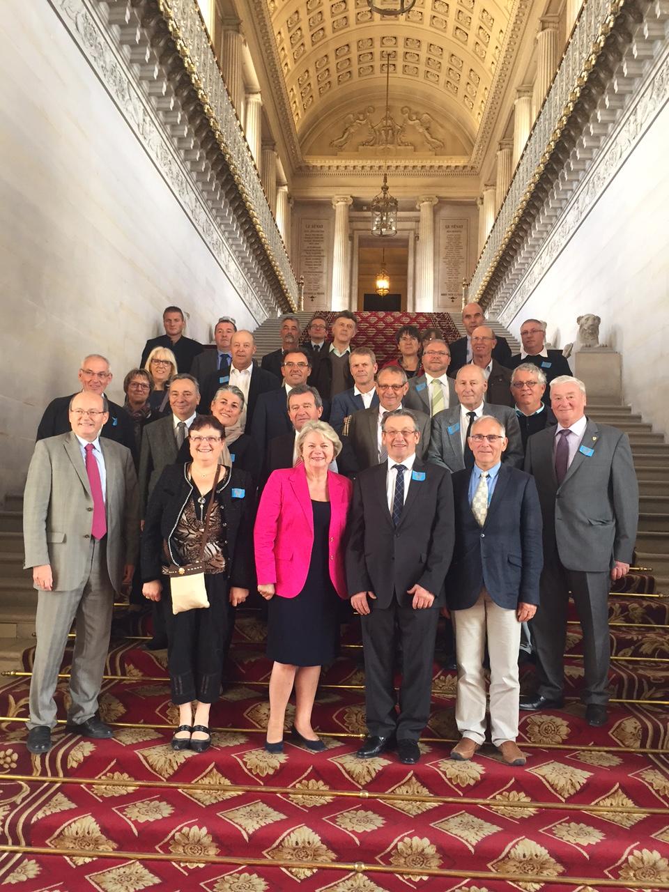 Visite des maires de la Marne