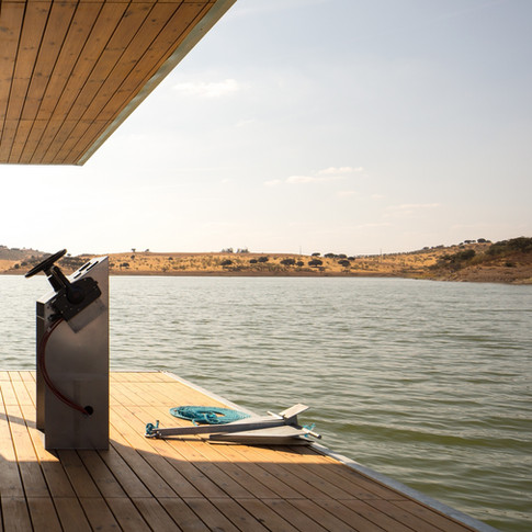 FLOATWING house in Alqueva, Portugal
