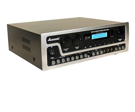 AM-450 800W 4-Channel Power Mixing Amplifier