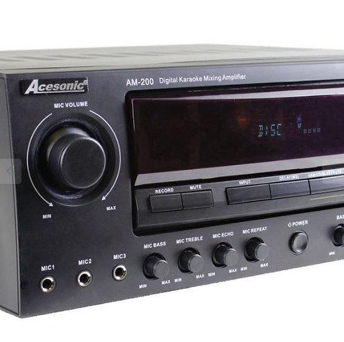 HKR-710 340-Watt 7.1 Surround Sound Karaoke Receiver