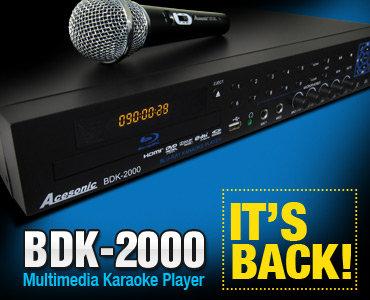 BDK-2000 Blu-Ray Disc Multimedia Karaoke Player
