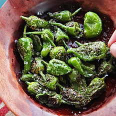 Baked Padron Peppers