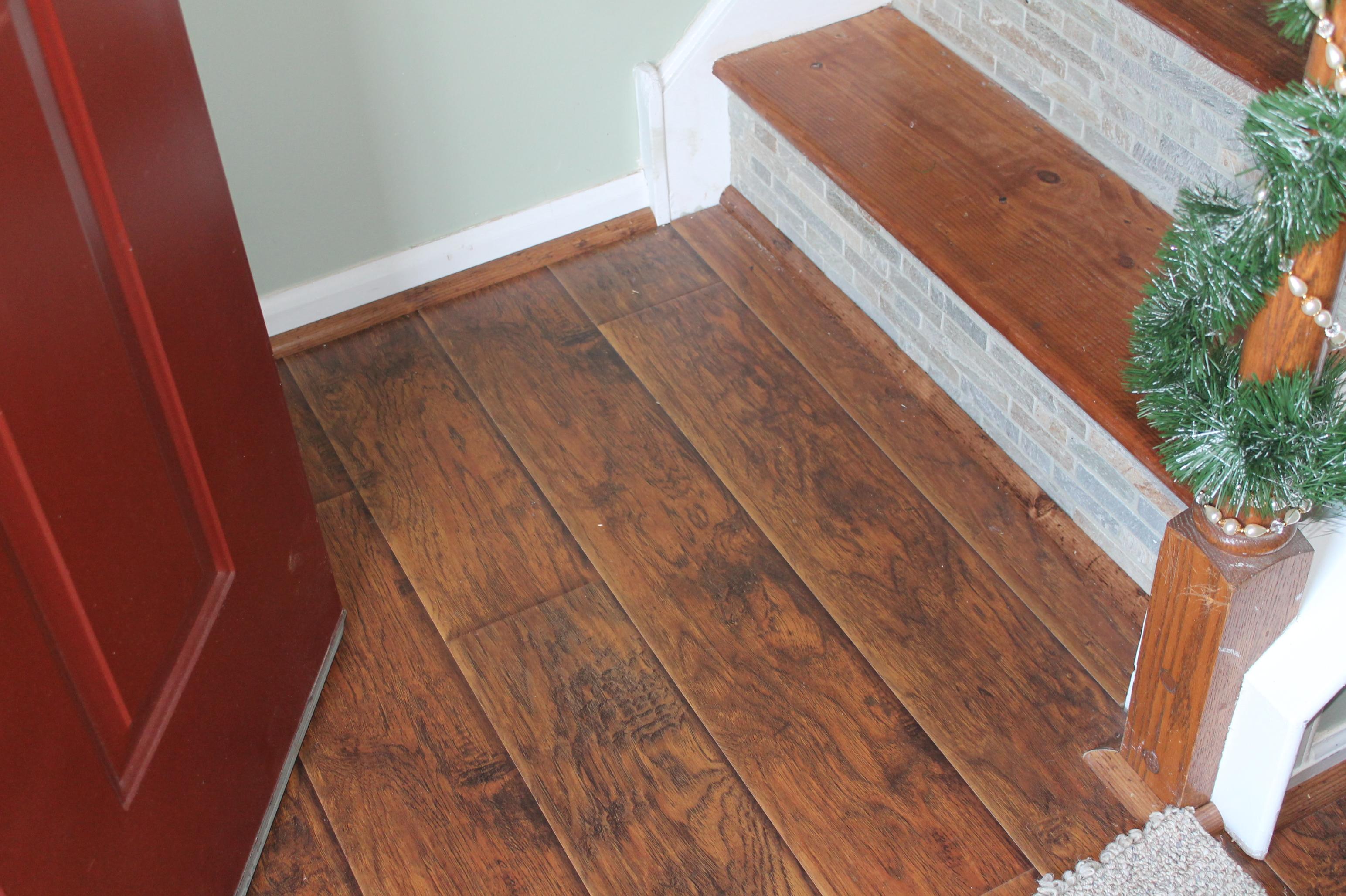 Laminate Floor & Stairs