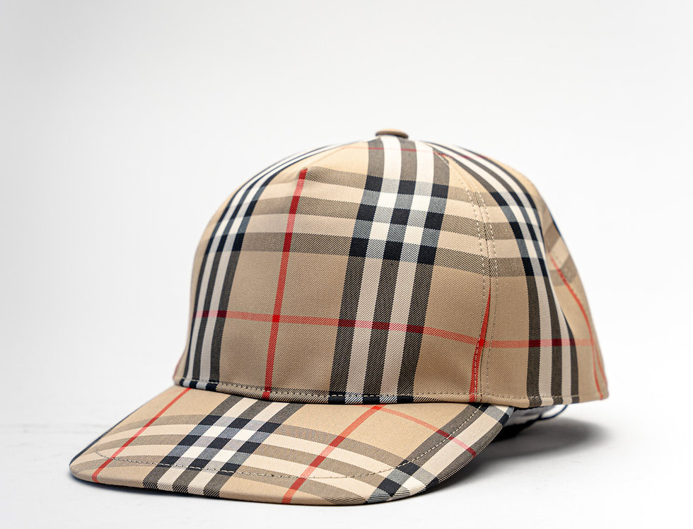 Burberry SS21 Vintage Check Baseball Cap