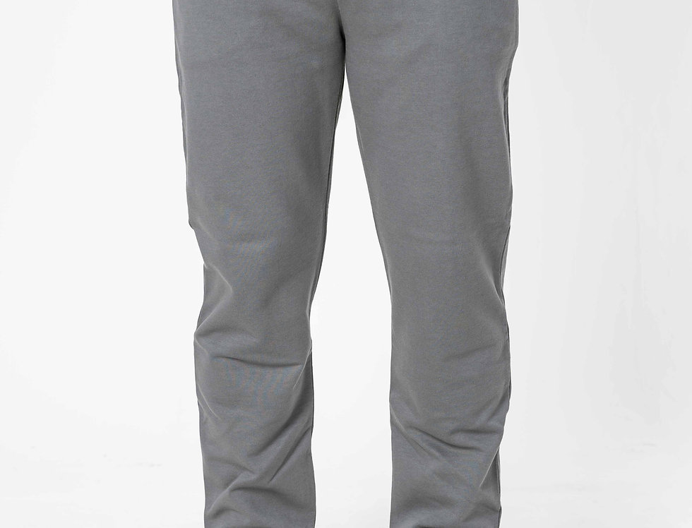 Prada Tracksuit Bottoms With Nylon Pocket In Slate Grey