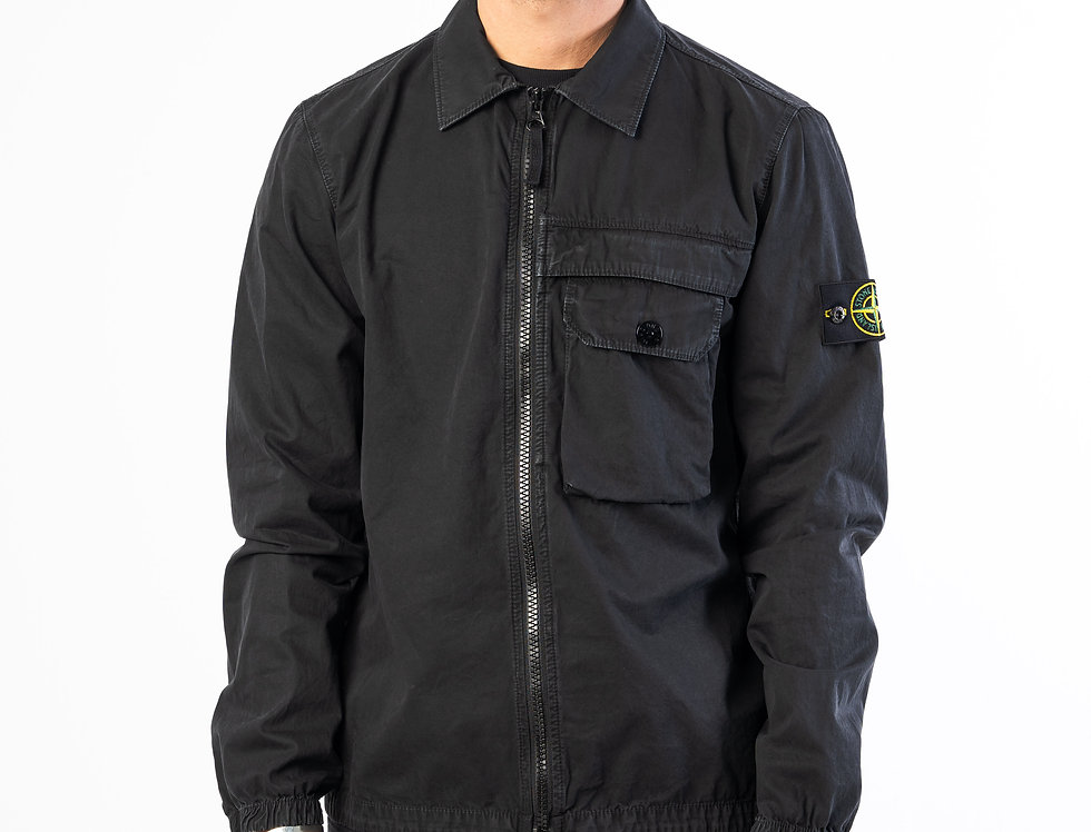 Stone Island T.CO+OLD Overshirt In Black