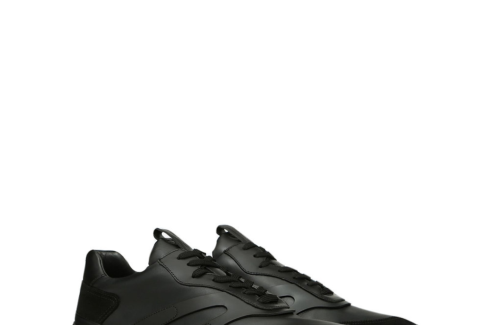 Valentino Bounce Sprayed Trainer side view