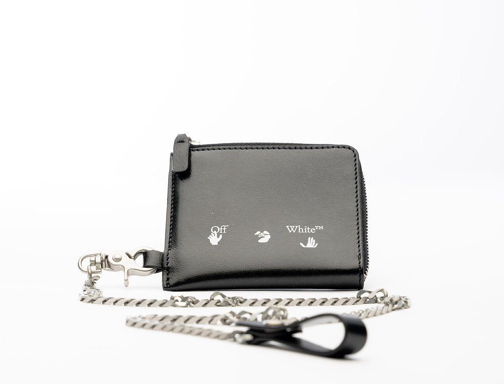 Off-White Key Chain Wallet
