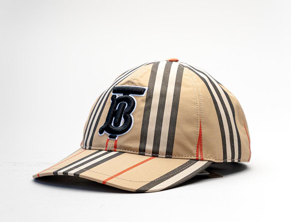 Burberry ss21 Stripe TB Baseball Cap