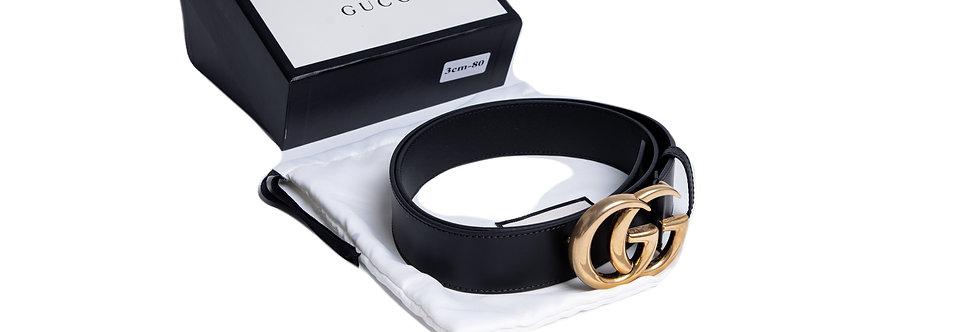 Gucci Unisex Belt 4CM front view