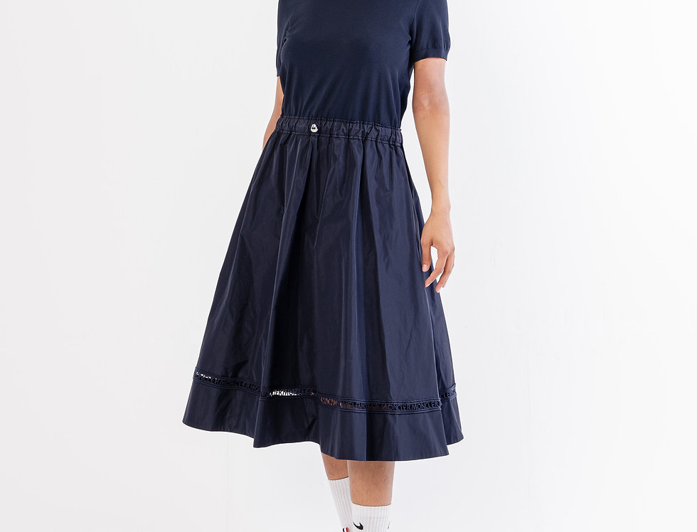 Moncler Tricto Dress  In Navy