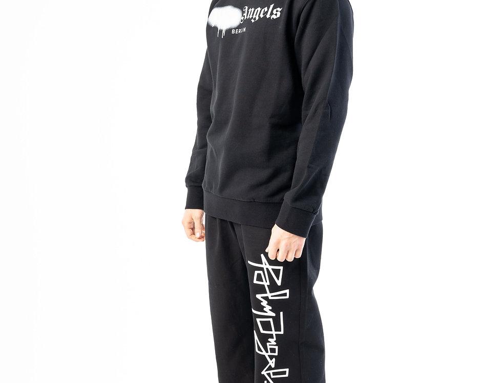 Palm Angels  Sweatshirt In Black