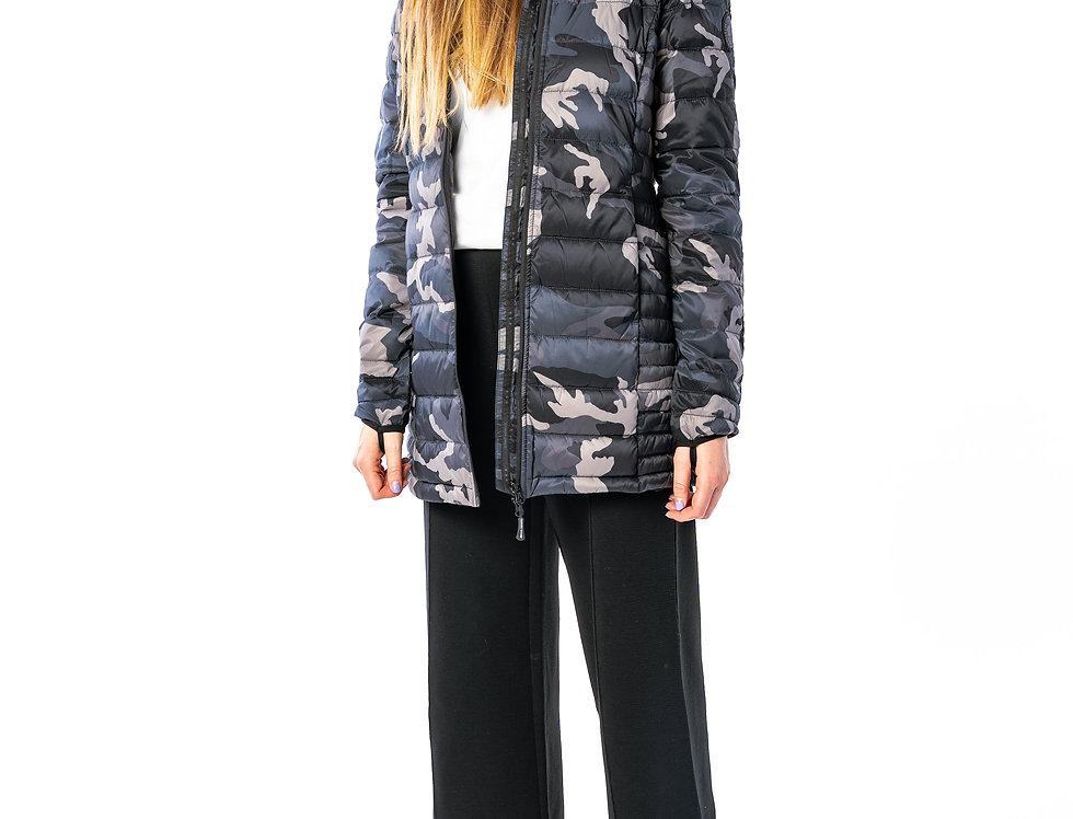 Canada Goose -  Brookvale Hooded Coat In Black Camo