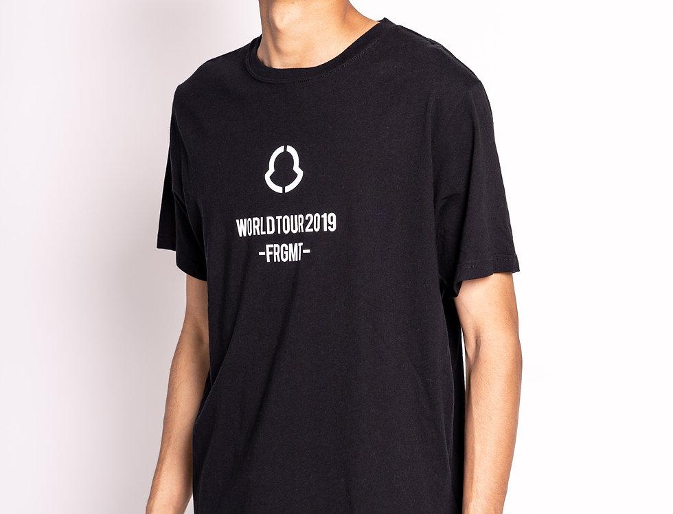 Moncler 'Fragment' Short-Sleeved T-shirt in Black