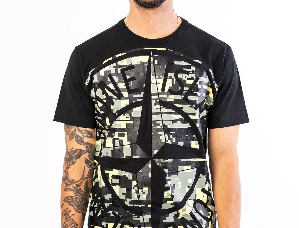 Stone Island T-Shirt In Black
