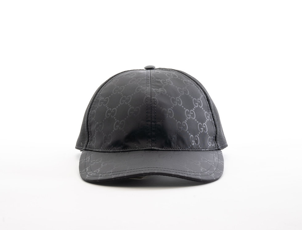 Gucci Black GG Cap
