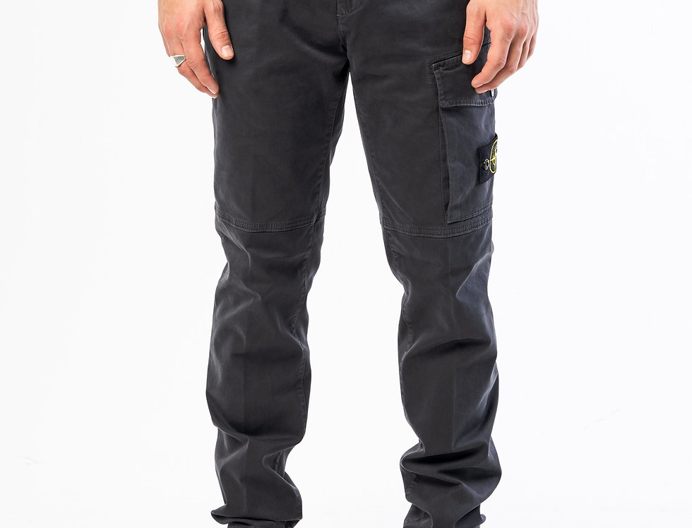 Stone Island Cargo Pants In Grey
