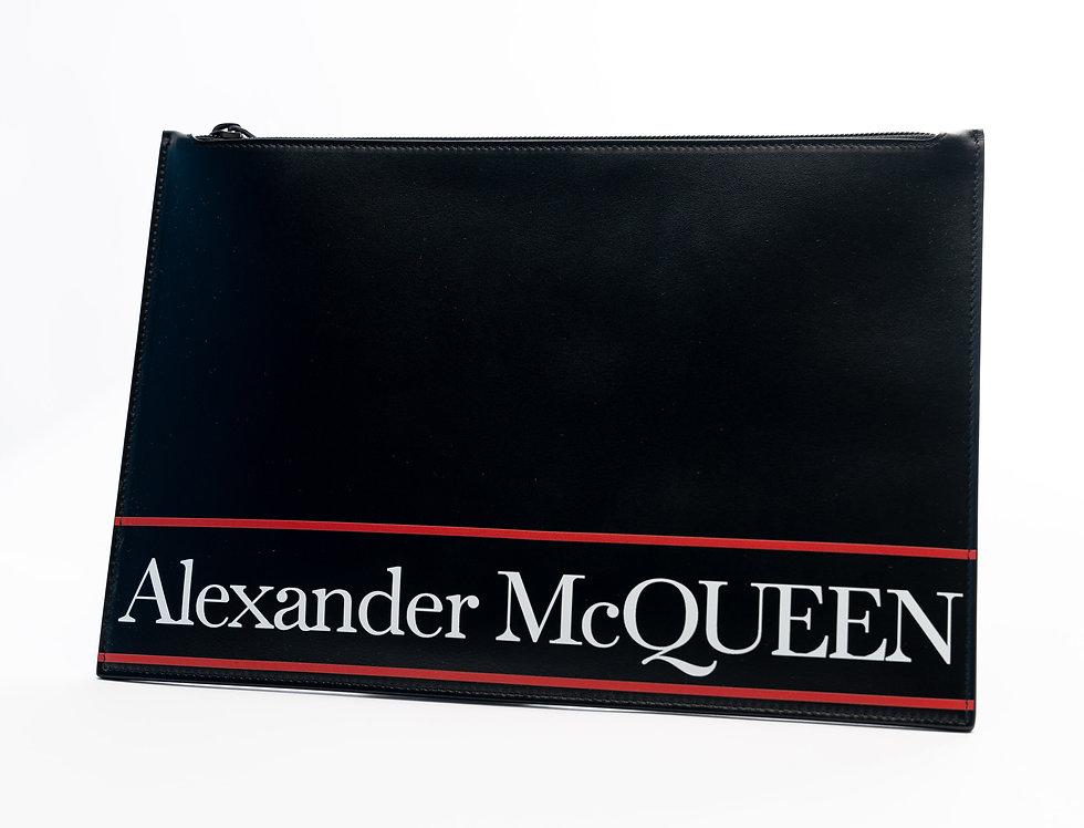 Front of Alexander McQueen pouch