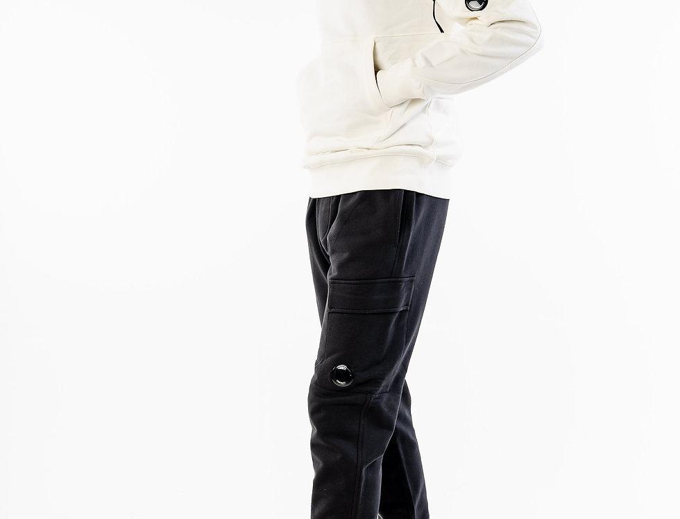 C.P. Company Hooded Sweatshirt In White