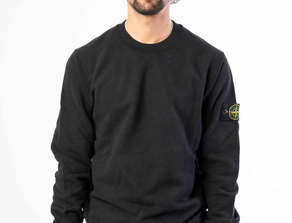 Stone Island Sweatshirt In Black