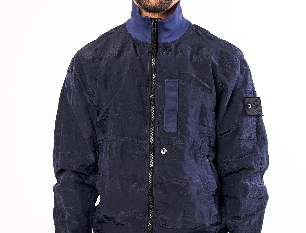 Stone Island Shadow Project Jacket In Dark Navy