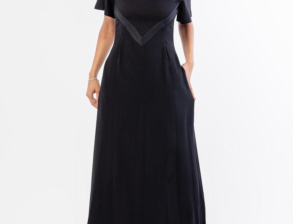 Moncler Abito Dress  In Black