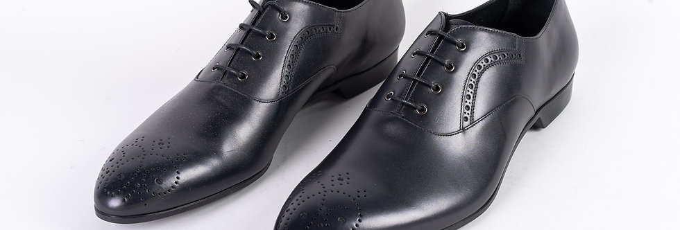 Prada Shoe In Black front view