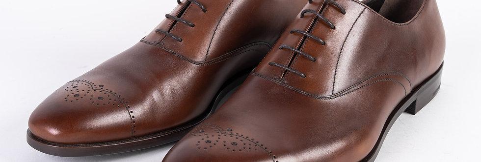 Prada Shoe In Brown front view