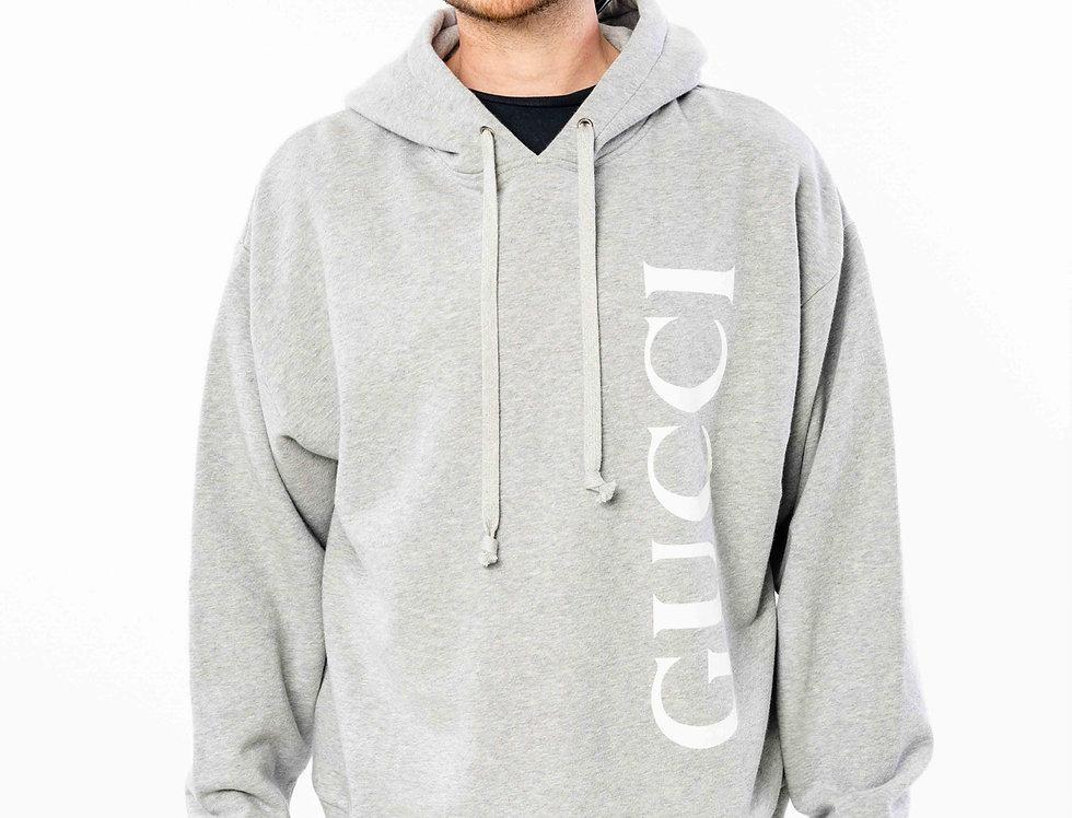 Gucci Grey Hooded Sweatshirt