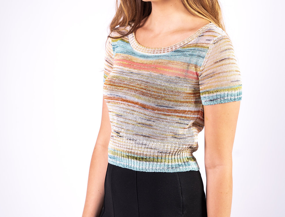 Missoni Multicoloured Top front view