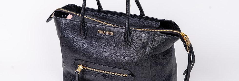 Miu Miu Madras Bag In Large front view