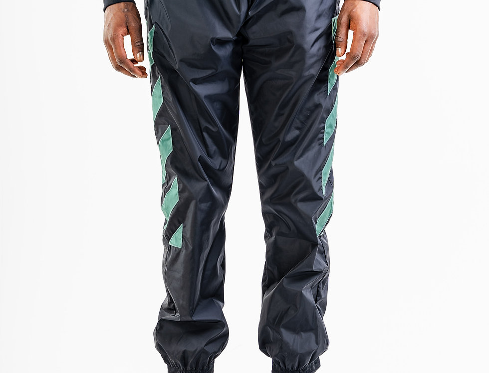 OFF-WHITE™️ AW20 Green Diagonals Nylon Track Pants